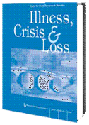 Cover of the journal Illness, Crisis & Loss